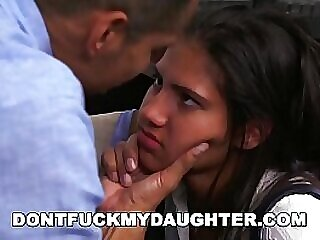 don and 039 t fuck my d. latin teen victoria valencia fucks daddy and 039 s employee