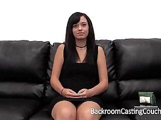 Amateur Big Cum Facial On Casting Couch
