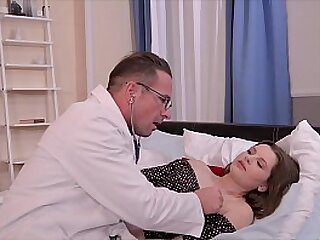 Teen Babe Liona's Tight Pussy & Asshole Intensely Fucked by Deviant Doctor