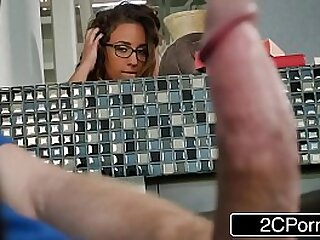 Busty Stepdaughter Layla London Loves To Watch Porn With Her Stepdad