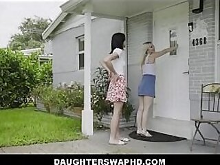 y. Petite Teen Step Daughters Swap Fathers For Fathers Day Orgy