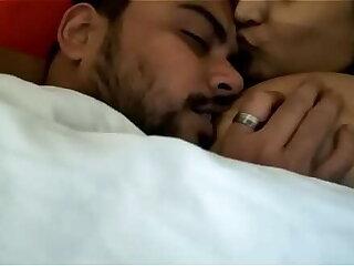 Wife Big boobs Indian nipple licking MMS
