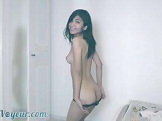 Asian Slut Striptease